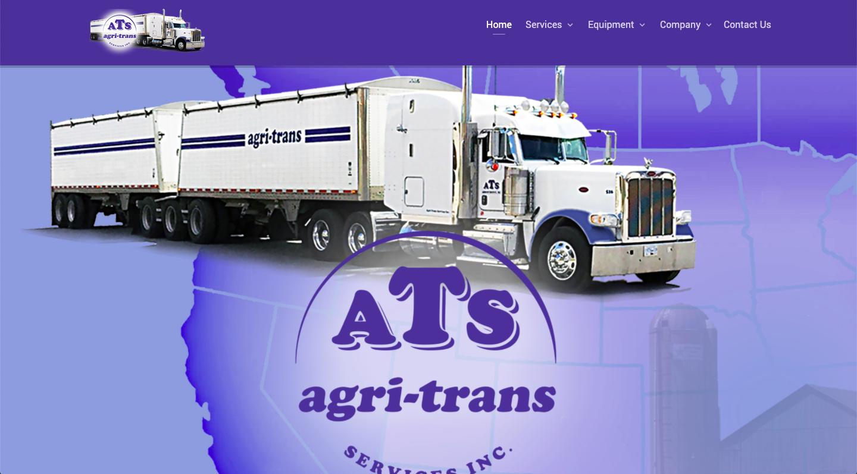 ATS Agri-Trans Website