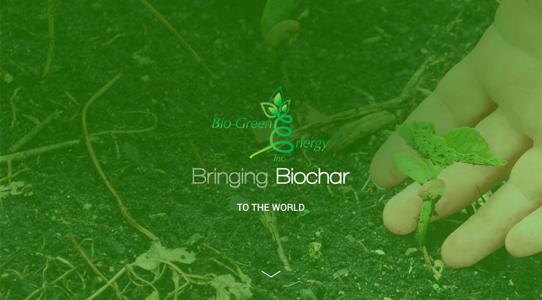 Bio Green Energy Website