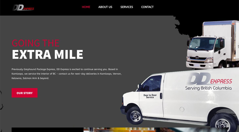 DD Express Website