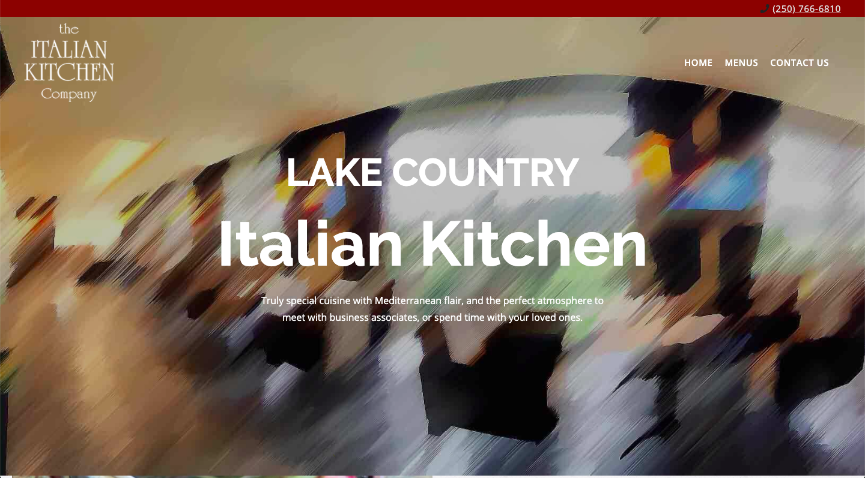 The Italian Kitchen Company Website