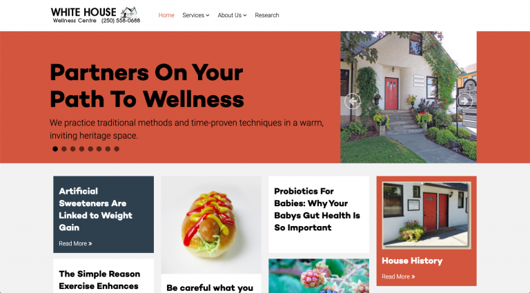 White House Wellness Website