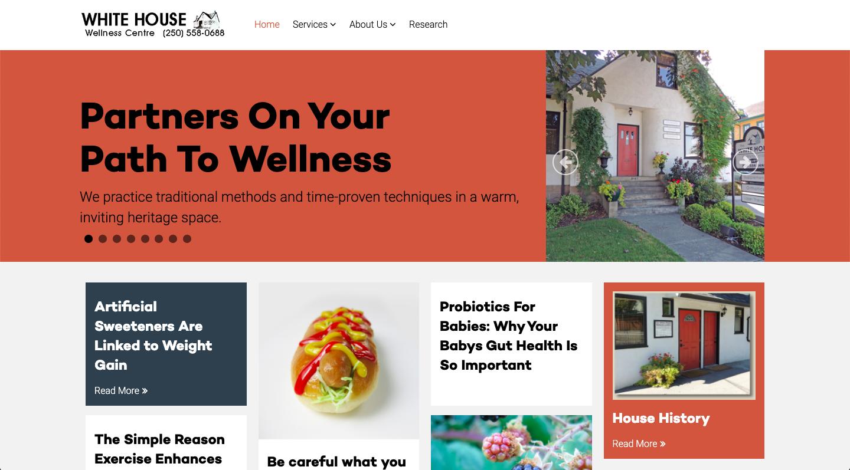 White House Wellness Website